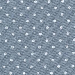 Zweigart Belfast Petit point Bleu pois blancs 5269